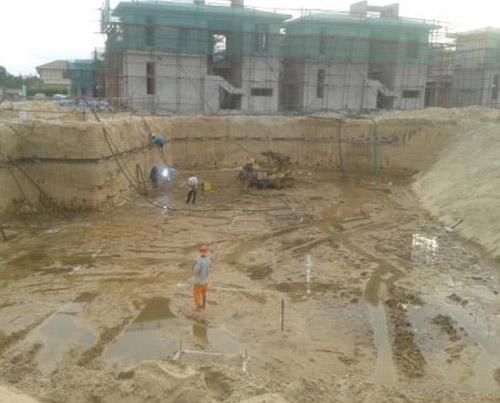 哈尔滨基坑降水
